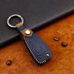 Premium Leder Cover passend für Ford Schlüssel...