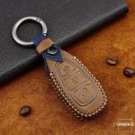 Premium Leder Cover passend für Ford Schlüssel + Anhänger  LEK60-F5