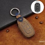 Premium Leder Cover passend für Hyundai Schlüssel + Anhänger  LEK60-D9