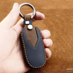 """Premium Leder JEEP/FIAT Autoschlüssel Cover """"TEXAS"""" LEK63-J5"""