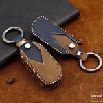 Premium Leder Cover passend für Kia Schlüssel +...