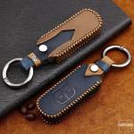 Premium Leder Cover passend für Mazda Schlüssel + Anhänger  LEK60-MZ1