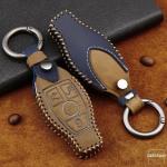 Premium Leder Cover passend für Mercedes-Benz Schlüssel + Anhänger  LEK60-M8