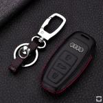 Leder Cover Audi schwarz LEK48-AX7