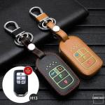 Leder Schlüssel Cover passend für Honda...