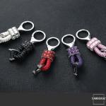 Mini Lederband - Schlüsselanhänger SAR37