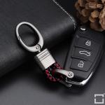 Mini Schlüsselanhänger Lederband mit Karabiner...