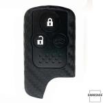Silikon Carbon-Look Schlüssel Cover mit Tastenschutz...