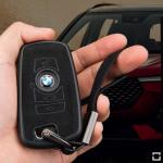 Silikon Alcantara Schutzhülle passend für BMW...
