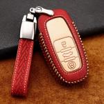 Premium Leder Cover passend für Audi...