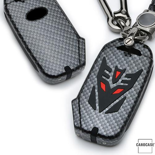 Coque de protection en Aluminium pour voiture Kia clé télécommande K8