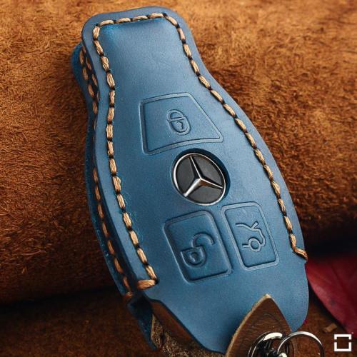 Cuero funda para llave de Mercedes-Benz M8