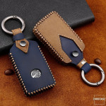 Premium Leder Cover passend für Mazda Schlüssel...