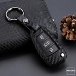Vater-Silikon Carbon-Look Cover Audi schwarz SEK3-AX3-1