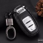 Silikon Carbon-Look Cover Audi schwarz SEK3-AX4