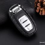 Silikon Carbon-Look Cover Audi schwarz SEK3-AX4...