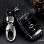 Silikon Carbon-Look Cover Audi schwarz SEK3-M9