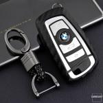 Silikon Carbon-Look Cover Mercedes-Benz schwarz SEK3-B4