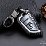 Silikon Carbon-Look Cover BMW schwarz SEK3-B6