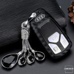 Silikon Carbon-Look Cover Audi schwarz SEK3-AX6
