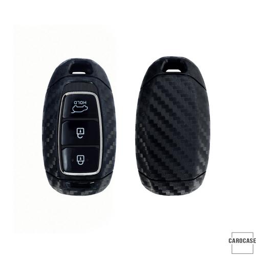 Silikon Carbon-Look Cover HYUNDAI schwarz SEK3-D9