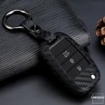 Silikon Carbon-Look Cover KIA schwarz SEK3-K3-K3X