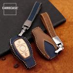 Premium Schlüsseletui für Mercedes-Benz inkl. Lederband LEK31-M8