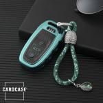 Glossy Carbon-Look Schlüssel Cover passend für Audi Schlüssel  SEK14-AX4