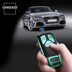 Glossy Carbon-Look Schlüssel Cover passend für Audi Schlüssel  SEK14-AX6