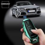 Glossy Carbon-Look Schlüssel Cover passend für Audi Schlüssel  SEK14-AX7