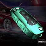 Glossy Carbon-Look Schlüssel Cover passend für Ford Schlüssel  SEK14-F2