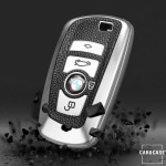 Silikon Leder-Look Schlüssel Cover passend für...
