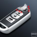 Silikon Leder-Look Schlüssel Cover passend für Mazda Schlüssel  SEK13-MZ2
