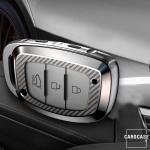 Glossy Schlüsselhülle mit Tastenschutz passend für Hyundai Schlüssel  SEK15-D1-D2