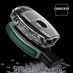 TPU Silikon Schlüsselhülle mit Tastenschutz passend für Mercedes-Benz Schlüssel  SEK16-M7