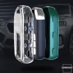 TPU Silikon Schlüsselhülle mit Tastenschutz passend für Honda Schlüssel  SEK16-H11