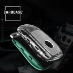 TPU Silikon Schlüsselhülle mit Tastenschutz passend für Mercedes-Benz Schlüssel  SEK16-M9