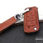 Premium Leder Schlüsseletui passend für...