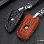Premium Leder Schlüsseletui passend für BMW...
