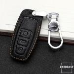 Premium Leder Schlüsseletui passend für Audi Schlüssel  LEK62-AX7