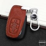 Premium Leder Schlüsseletui passend für Audi Schlüssel  LEK62-AX2