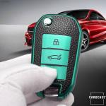 Silikon Leder-Look Cover Peugeot SEK13-P3