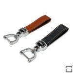 Premium Lederband mit Karabiner - SAR45