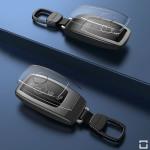 CABULE Premium Alu Schlüssel Etui für Mercedes-Benz Autoschlüssel mit Tastenschutz HEK55-M9