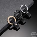 Cabule Schlüsselring mit Lederband KRB6