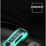 Glossy Carbon-Look Schlüssel Cover passend für Porsche Schlüssel  SEK14-PE2