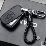 Blackline Leder Cover für Audi schwarz, inkl....