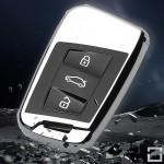 Black-Glossy Silikon Cover Volkswagen, Audi, Skoda, Seat  SEK7-V4