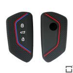 Silicone key case/cover for Volkswagen remote keys  SEK1-V11
