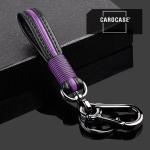 Schlüsselanhänger - Lederband inkl. Schlüsselring und Karabiner